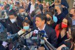 """Conte in Calabria """"benedice"""" la candidatura di Amalia Bruni"""