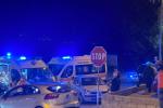 Carambola tra due auto e una moto a Montalto Uffugo, tra i feriti anche una bimba