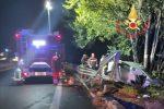 Lamezia, auto perde il controllo e finisce fuori strada: un morto