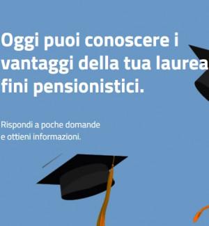 Simulare riscatto laurea ai fini pensionistici: online nuovo servizio Inps - GUIDA