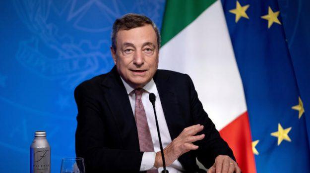 """Draghi: """"L'emergenza climatica grave come la pandemia, dobbiamo agire subito"""""""