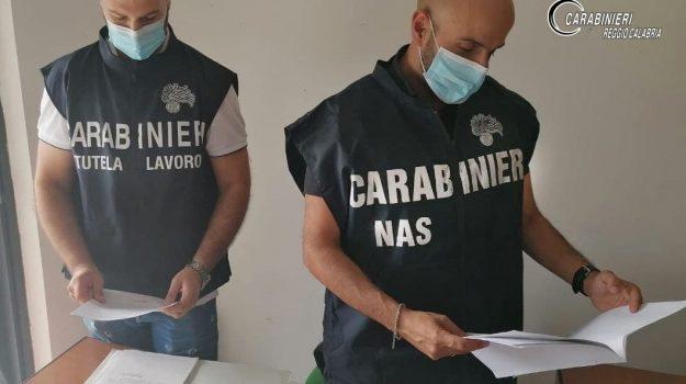 Lavoratori in nero e col reddito di cittadinanza in una ditta di Gallico: denunciato il titolare