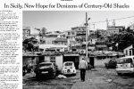 Baracche a Messina, reportage del New York Times