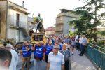 Capistrano, al via la festa di San Rocco tra culto, tradizioni e restrizioni covid FOTO