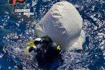 """Milazzo, rimossa una """"rete fantasma"""": era un pericolo per la fauna marina FOTO"""
