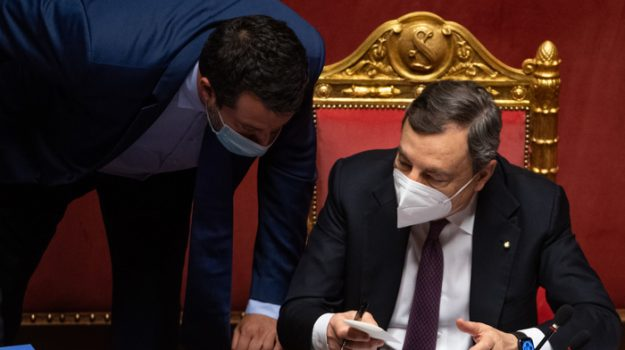 coronavirus, green pass, Mario Draghi, Matteo Salvini, Sicilia, Cronaca