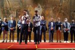 Salvini a Cosenza (foto ARENA)