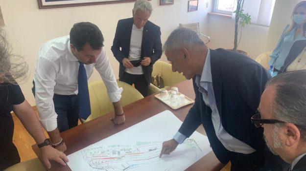 porto gioia tauro, andrea agostinelli, Matteo Salvini, Reggio, Cronaca