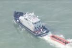 Regno Unito: salvati 158 migranti nel Canale della Manica