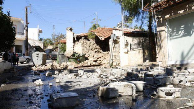 creta, sfollati, terremoto, Sicilia, Mondo