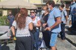 Terme Luigiane, a Paola cori e striscioni contro l'assessore regionale Orsomarso