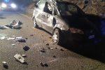 Tarsia: sbanda con la sua auto, donna di 41 anni muore sul colpo