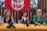 Amalia Bruni alla presentazione della lista del Psi