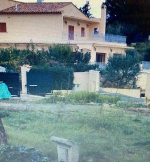 """La villa di Cap d'Antibes in Costa Azzurra dove i poliziotti della """"Catturandi"""" della Squadra Mobile incastrarono il latitante Giovanni Franco"""