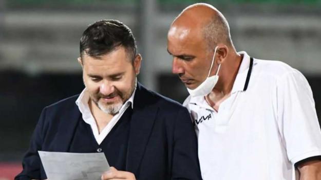 acr messina, calcio, serie c, Christian Argurio, Messina, Sport