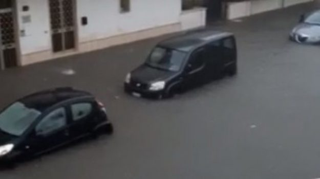 bomba d'acqua, maltempo, nardo, salento, Sicilia, Cronaca