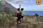 Bimba di 10 anni ferita nella riserva dello Zingaro. Salvata dal Soccorso Alpino