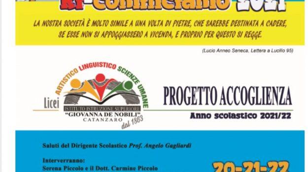 catanzaro, Istituto de nobili, progetto accoglienza, Catanzaro, Società