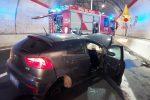 Catanzaro, incidente autonomo sulla nuova 106: giovane ferito FOTO