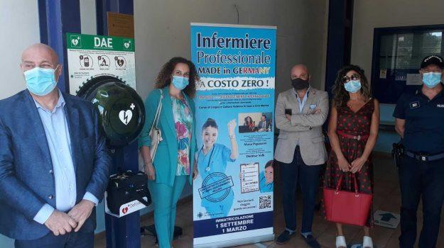 crotone, defibrillatore, germania, renania, Catanzaro, Cronaca