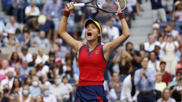 tennis, us open, Emma Raducanu, Sicilia, Sport