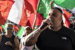 No al Green pass. Fermati Giulio Castellino di Forza Nuova ed altri neofascisti