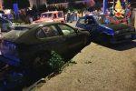 Catanzaro, incidente stradale coinvolge tre auto. Due i feriti trasferiti in ospedale