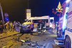Violento frontale tra auto a Sellia Marina, due morti e un ferito grave