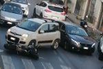 Giammoro: incidente sulla SS 113, centauro ferito e traffico paralizzato