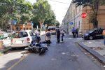 Scontro tra due ciclomotori a Messina: quattro feriti