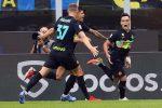 L'Inter gioca a tennis con il Bologna (6-1). A segno Dzeko (2), Lautaro, Skriniar, Barella e Vecino - TABELLINO