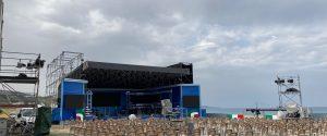Pizzo, saluto dal mare a Mattarella. Attesi la Dattilo e il veliero Vespucci