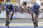 Mondiali di ciclismo, Italia bronzo nella crono staffetta mista