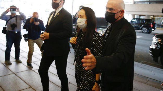 arresto lady huawei, canada, cina, rilascio, Meng Wanzhou, Sicilia, Mondo