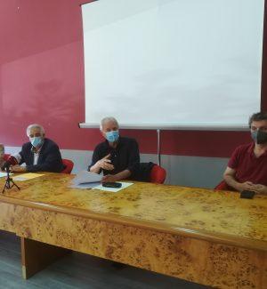 Annamaria Bavaro, Gennarino Masi, don Giacomo Panizza e Vincenzo Linarello