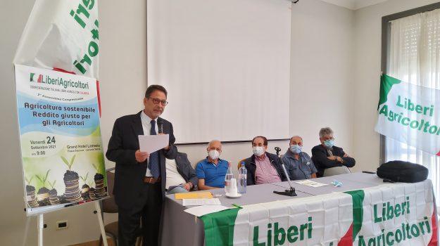 assemblea congressuale, liberi agricoltori, Antonio Bruno, Giuseppe Mangone, Luigi Colella, Calabria, Cronaca