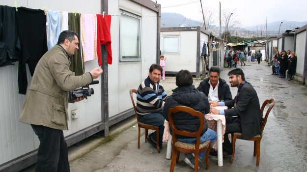 campo rom, documentario, lamezia terme, Francesco Pileggi, Catanzaro, Società