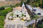 Partinico, sequestrata una piantagione di marijuana vicino al santuario della Madonna