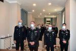 Carabinieri, il comandante interregionale incontra i nuovi ufficiali di Sicilia e Calabria