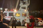 Sbarco di migranti a Roccella, fermato il presunto scafista