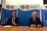 """Il presidente della Figc Gabriele Gravina a Catanzaro: """"Cavalcare l'onda Azzurra"""""""