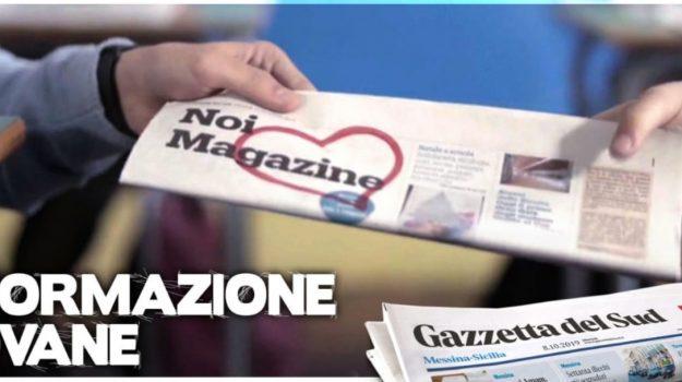 gazzetta del sud, messina, noi magazine, scuole, Sicilia, Calabria, Noi Magazine