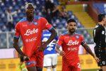 Ciclone Napoli sul campionato con Osimhen show, la Roma vince, pari Lazio