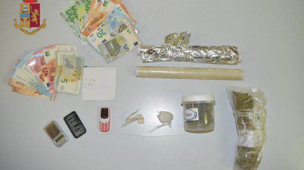 droga, messina, sequestro, Messina, Cronaca