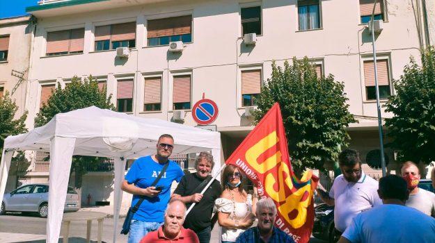 casa di cura, cosenza, protesta, San Bartolo e M.Misasi, Cosenza, Cronaca