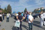 """Reggio Calabria, sit-in al Gom. Azzarà: """"Situazione drammatica"""" - VIDEO"""