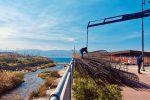 Il ponte sul torrente Calopinace a Reggio Calabria