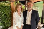 Carmela Cimino con il prof. Giuseppe Gaipa