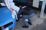 Gli agenti del Reparto Mobile di Reggio in azione