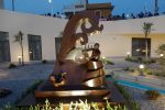 Rometta, inaugurata la statua in memoria di Aurelio Visalli
